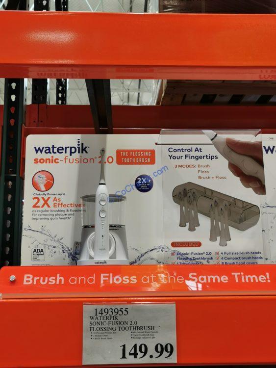 Waterpik Sonic Fusion 2.0 Flossing Toothbrush
