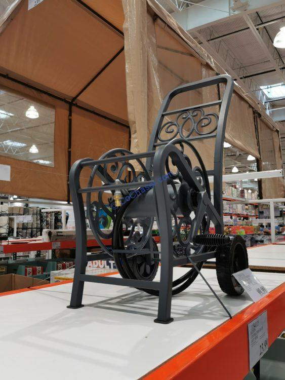 Suncast Hosemobile Elite Decorative Metal Hose Cart