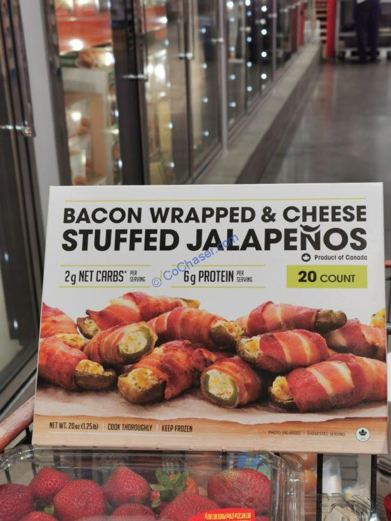 Ocean Pier Bacon Wrapped Jalapeno 20 Count Box
