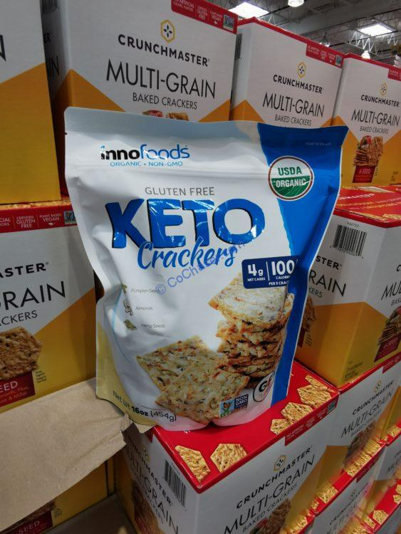 INNOFoods Organic KETO Cracker 16 Ounce Bag