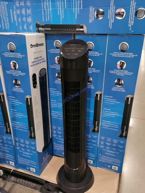 """OmniBreeze 40"""" Tower Fan"""
