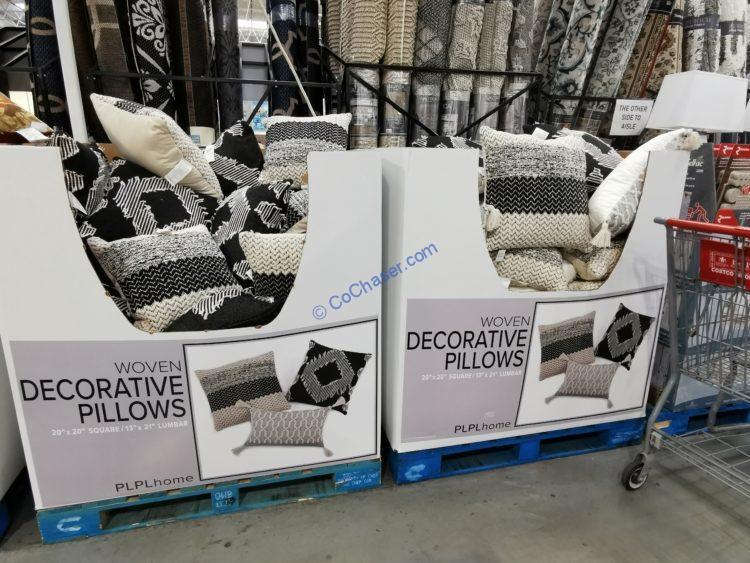 PLPL Collective Woven Décor Pillow