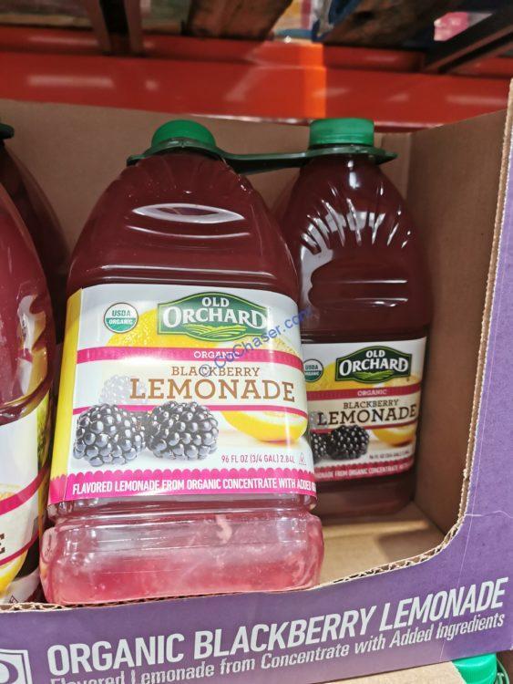 Old Orchard Organic Blackberry Lemonade 2/96 Ounce Bottles