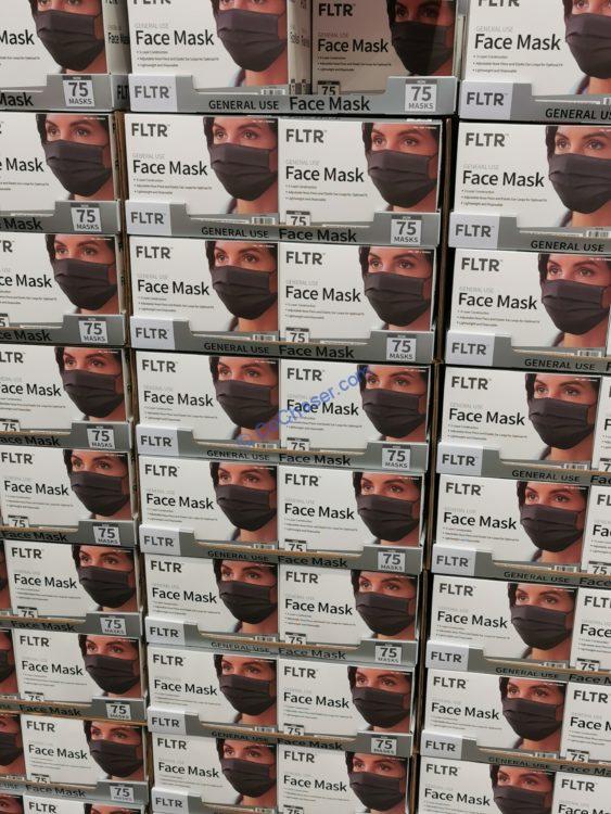 FLTR General Use Mask 75CT, Blue or Black