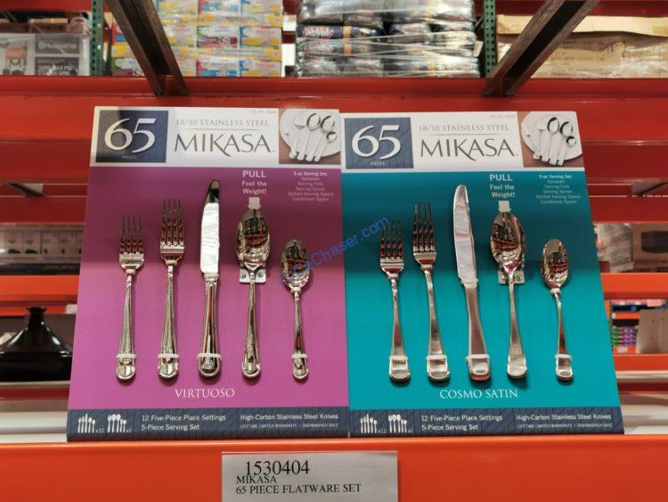 Mikasa 65 Piece Flatware Set