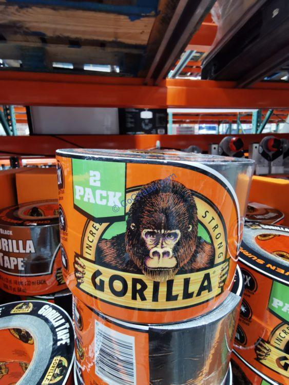 Gorilla Tape 2 Pack Black- 35 Yards