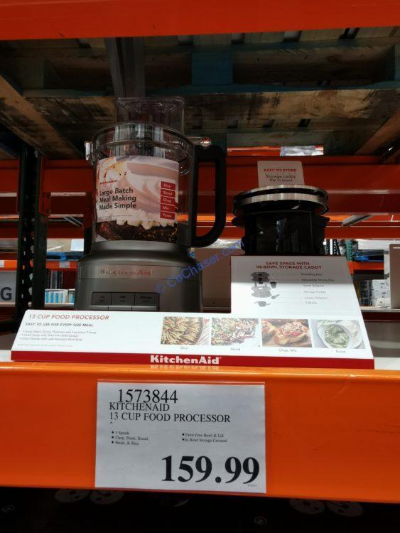 Kitchenaid 13 Cup Food Processor, Model#KFP1317CU