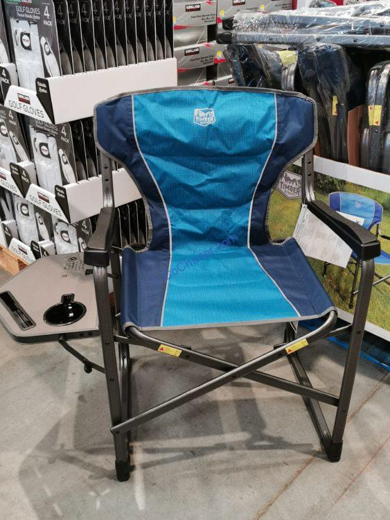 Timber Ridge ERGO Frame Director's Chair with Side Table