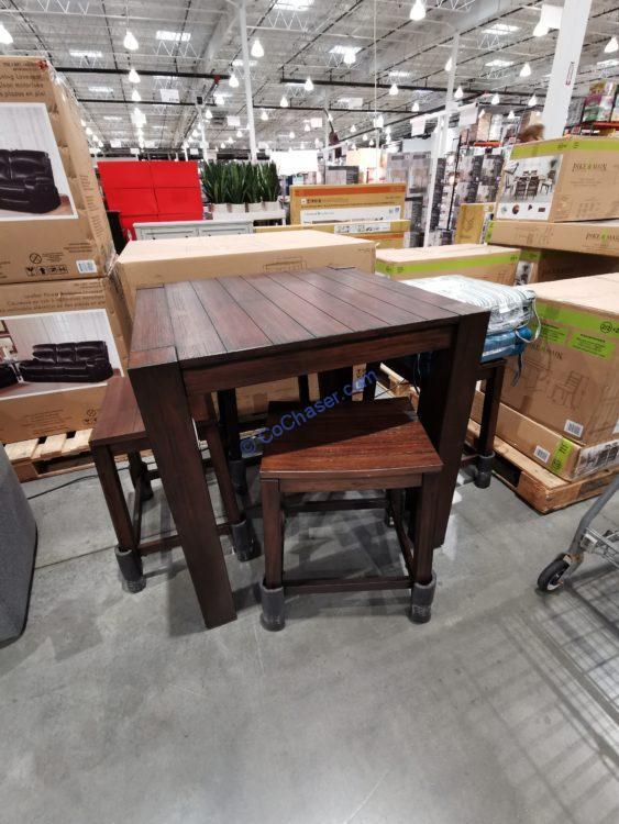 Pike & Main Benton 5PC Counter Height Dining Set, Model#P0253