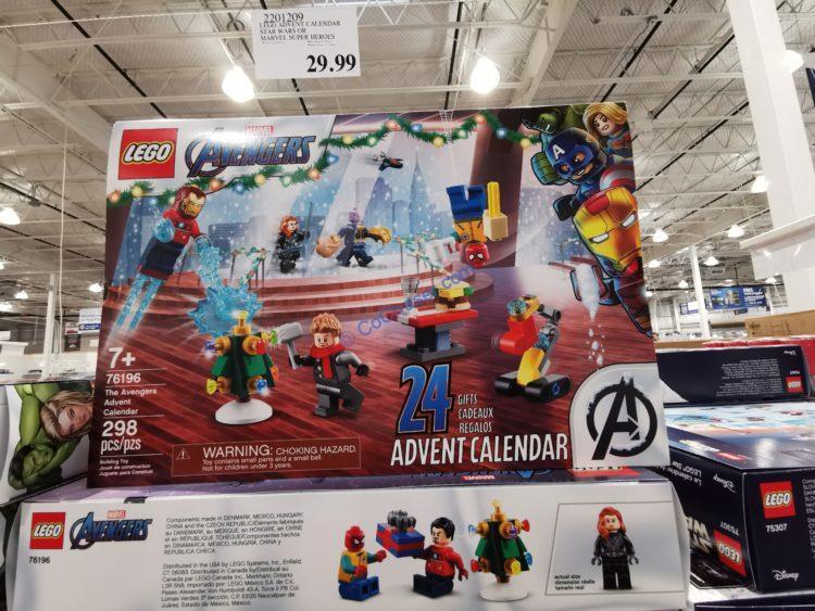 LEGO Advent Calendar Star Wars or Marvel Super Heroes